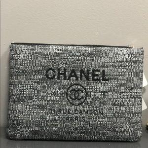 chanel handbag case clutch